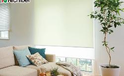 窓辺の花粉対策に抗アレルゲンロールスクリーン