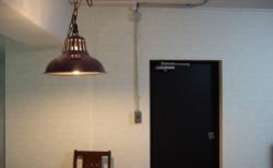 鉄の扉を黒板ペイントでDIYしました!