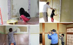 和室の古壁もDIYで塗り替えれば蘇る!